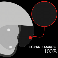 ECRAN RO12 BAMBOO NATUREL SOLAIRE 100% AR