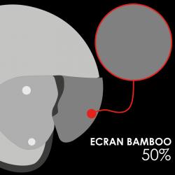 RO12 BAMBOO NATURAL SOLAR 50% VISOR AS