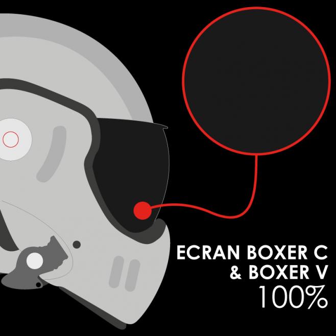 ECRAN RO5 BOXER CLASSIC / V SOLAIRE 100% AR