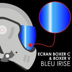 RO5 BOXER CLASSIC / V VISOR IRIDIUM BLUE
