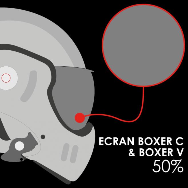 Ro5 Boxer Classic V Visor Solar 50 As Af Roof