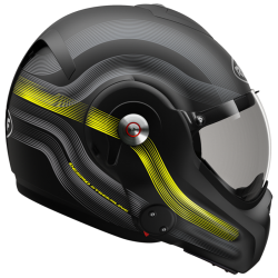 RO32 DESMO STREAMLINE MAT BLACK/TITAN/FLUO YELLOW
