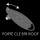 PORTE-CLEFS ROOF