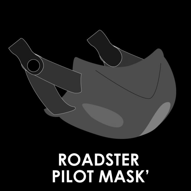 PILOT MASK RO5 ROADSTER