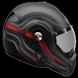 RO32 DESMO STREAMLINE MAT BLACK - TITAN - RED