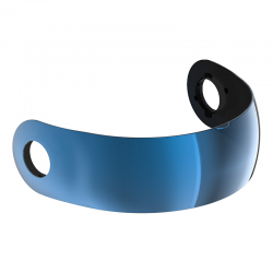 RO35 COOPER IRIDIUM BLUE BAND VISOR