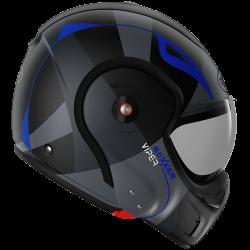 RO9 BOXXER VIPER MAT BLACK - BLUE
