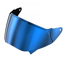 VISOR RO200 PINLOCK READY IRIDIUM BLUE