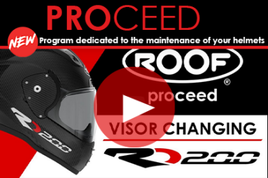ROOF PROCEED - Program dedicated to the maintenance and the use of your ROOF helmets